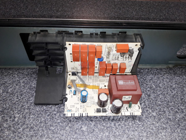 Juno JEB98601E, Elektronik incl Bedienblende Edelstahl, Bedienelektronik, Steuerung, Edelstahl, gebraucht, Erkelenz